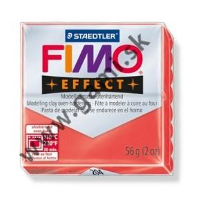 modelovacia hmota FIMO EFFECT, 56g, priehľadná červená