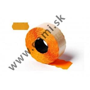 cenovkové etikety 22x12 mm, oranžové