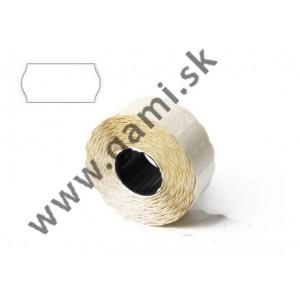 cenovkové etikety 25x16mm, biele