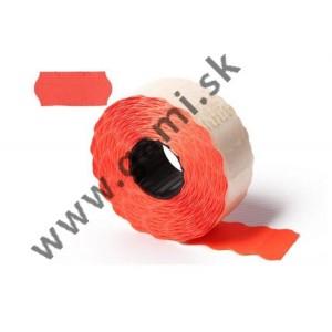 cenovkové etikety 25x16mm, červené