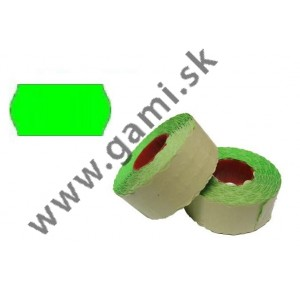 cenovkové etikety 25x16mm, zelené