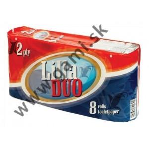 toaletný papier LILLA DUO, 2-vrstvy, 8ks/bal.