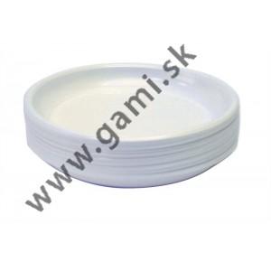 plastový tanier, priemer 17cm, 50ks/bal