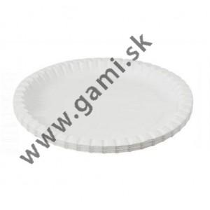 papierový tanier, okrúhly, 23 cm, 20ks/bal.