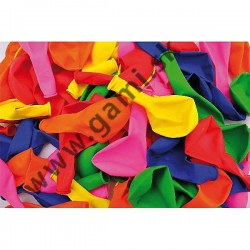 balóny, 26cm, mix farieb, 10ks/bal.