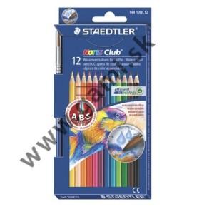 akvarelové pastelky STAEDTLER so štetcom, 12ks/bal.