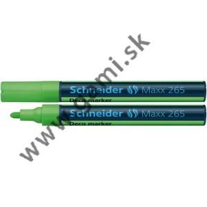 popisovač kriedový Schneider Maxx 265, 2-3mm, zelený