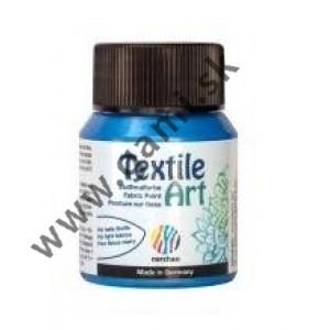 farba na textil NERCHAU, metalická modrá, 59ml