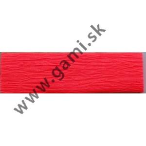 krepový papier, 50x200 cm, neónovo červená