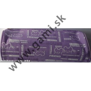 peračník detský, valec Mouse - fialový