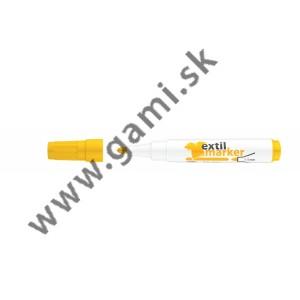 popisovač na TEXTIL XXL, žltý, 1-3mm