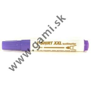 popisovač na TEXTIL XXL, fialový, 1-3mm