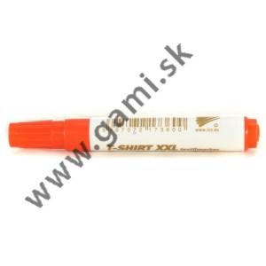 popisovač na TEXTIL XXL, neon oranžový, 1-3mm