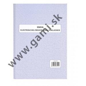 Kniha elektronickej registračnej pokladnice, mäkká väzba, 96 strán