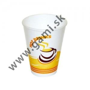 plastový pohár  thermo na kávu, 200ml, 50ks/bal.