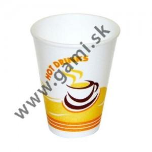 plastový pohár  thermo na kávu, 225ml, 50ks/bal.