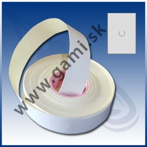 cenovkové etikety MOTEX 16x23mm biele