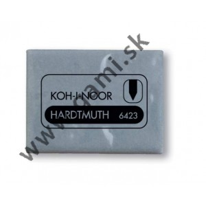 guma KOH-I-NOOR, tvárlivá, 6423, šedá