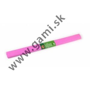 krepový papier svetloružový /200x50cm/