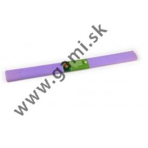 krepový papier svetlofialový /200x50cm/