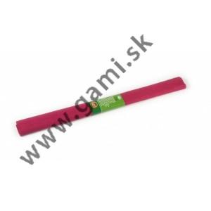 krepový papier vínovočervený /200x50cm/