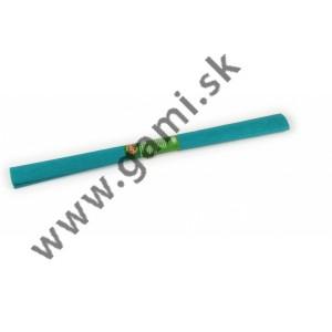 krepový papier modrozelený /200x50cm/