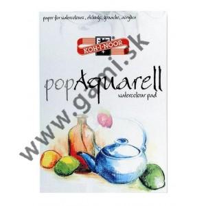blok papierov popAquarel, pre akvarel, lepty, kvaš, akryl