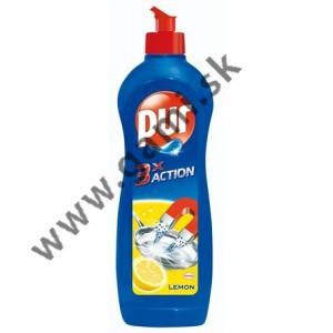 čistiaci prostriedok na umývanie riadu PUR 3Action, 900ml