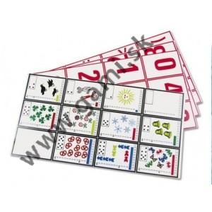 karty s číslami a písmenami pre 2.-4.ročník