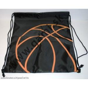 školské vrecko na prezuvky Basketbal, 39x31cm