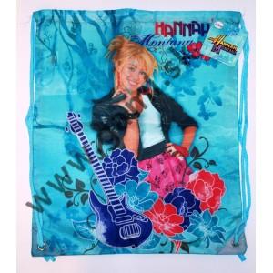 školské vrecko na prezuvky Hannah Montana, 39x31cm