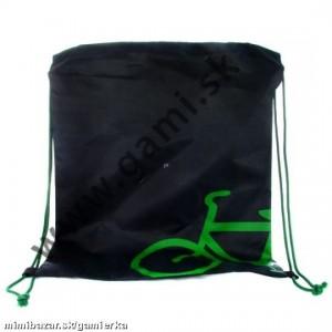 školské vrecko na prezuvky Bicykel, 39x31cm