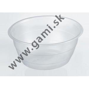 plastová miska na polievku 500ml, pevná, 50ks/bal
